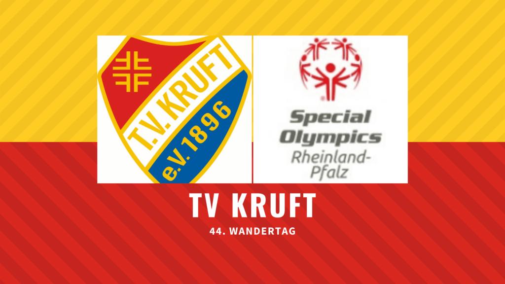 44. Wandertag des TV Kruft am 09. August 2015 in Kooperation mit Special Olympics für Menschen mit und ohne Handicap