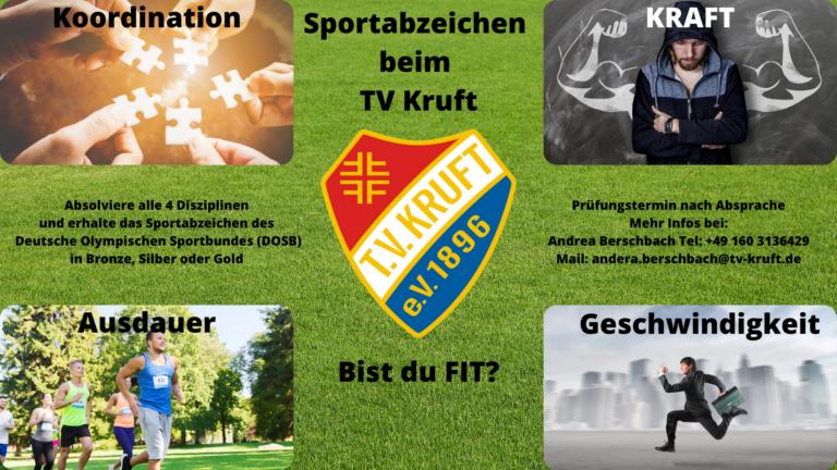 Sportabzeichen beim TV Kruft